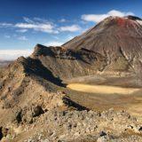 Sopka Ngauruhoe na Novém Zélandu – severní ostrov